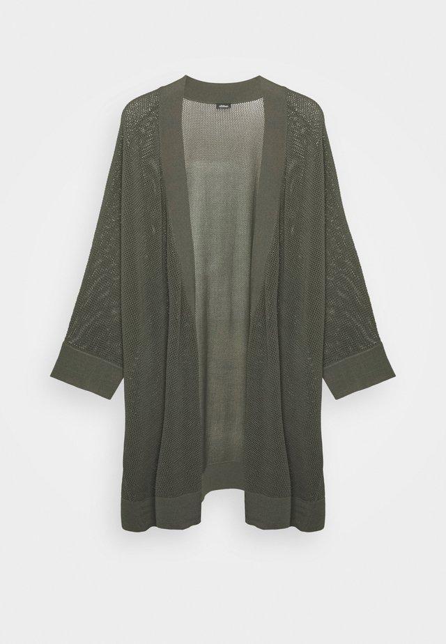 3/4 ARM - Gilet - dark khaki green