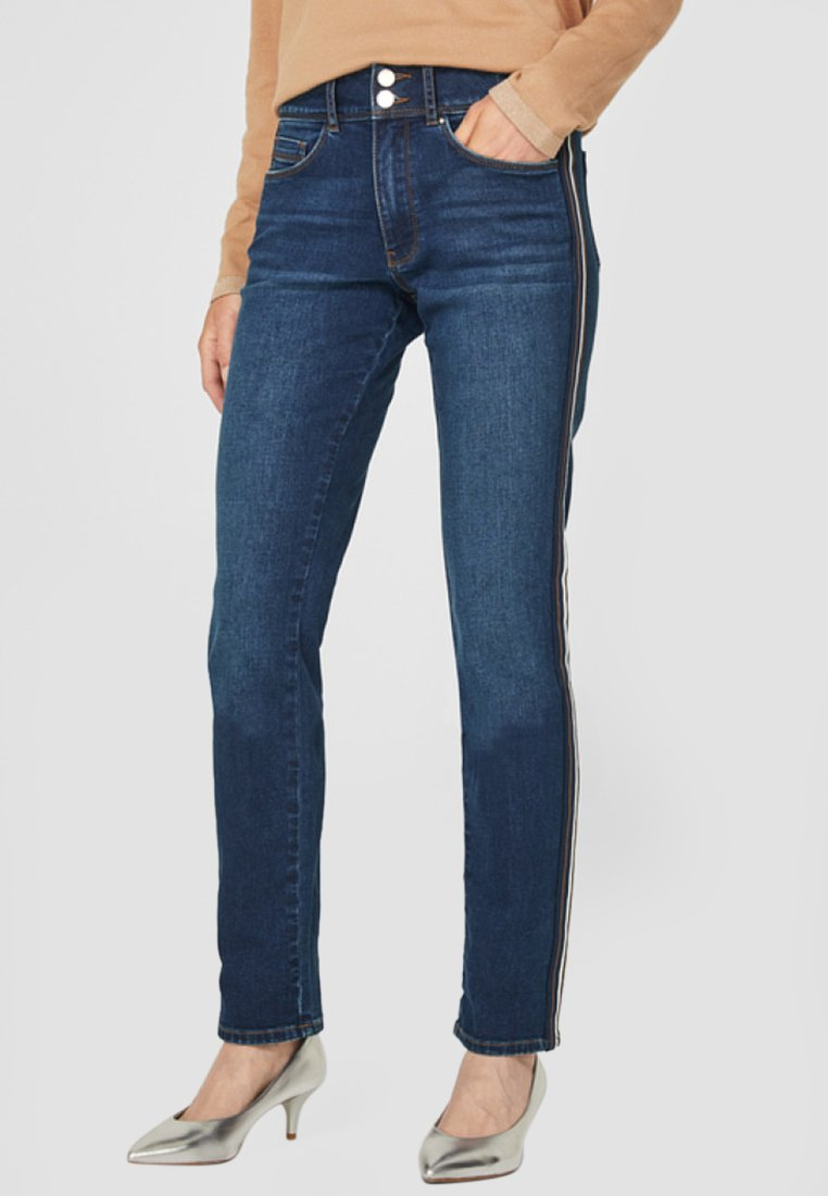 s.Oliver BLACK LABEL - Straight leg jeans - dark-blue