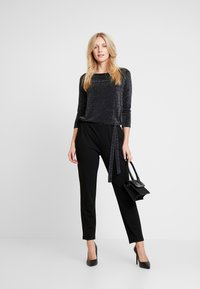 s.Oliver BLACK LABEL - OVERALL - Overall / Jumpsuit - grey/black - 1