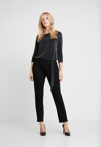 s.Oliver BLACK LABEL - OVERALL - Overall / Jumpsuit - grey/black - 0