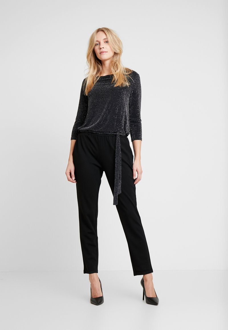 s.Oliver BLACK LABEL - OVERALL - Overall / Jumpsuit - grey/black