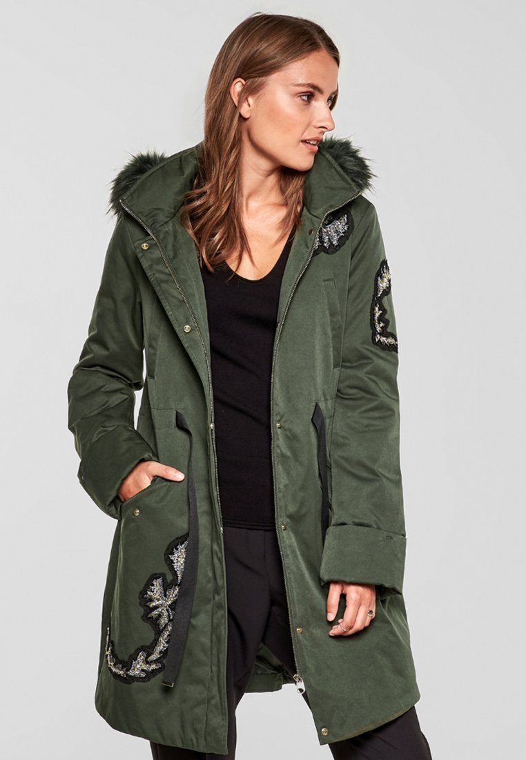 s.Oliver BLACK LABEL - Parka - khaki