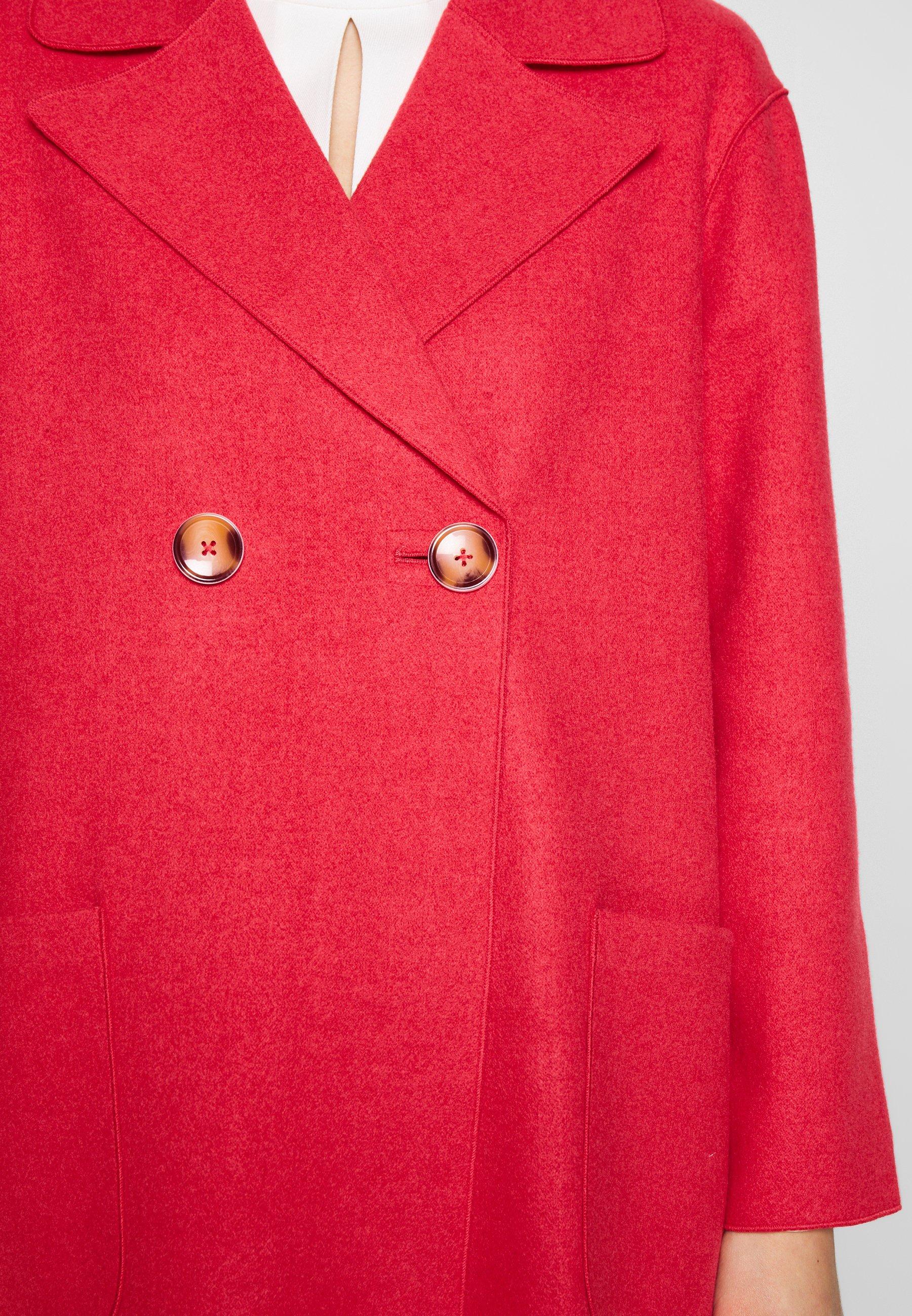 s.Oliver BLACK LABEL Krótki płaszcz - hibiscus