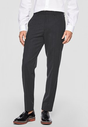 COSIMO FLEX - Suit trousers - anthracite