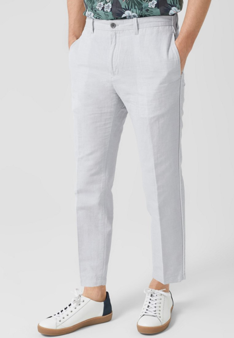s.Oliver BLACK LABEL - Trousers - white