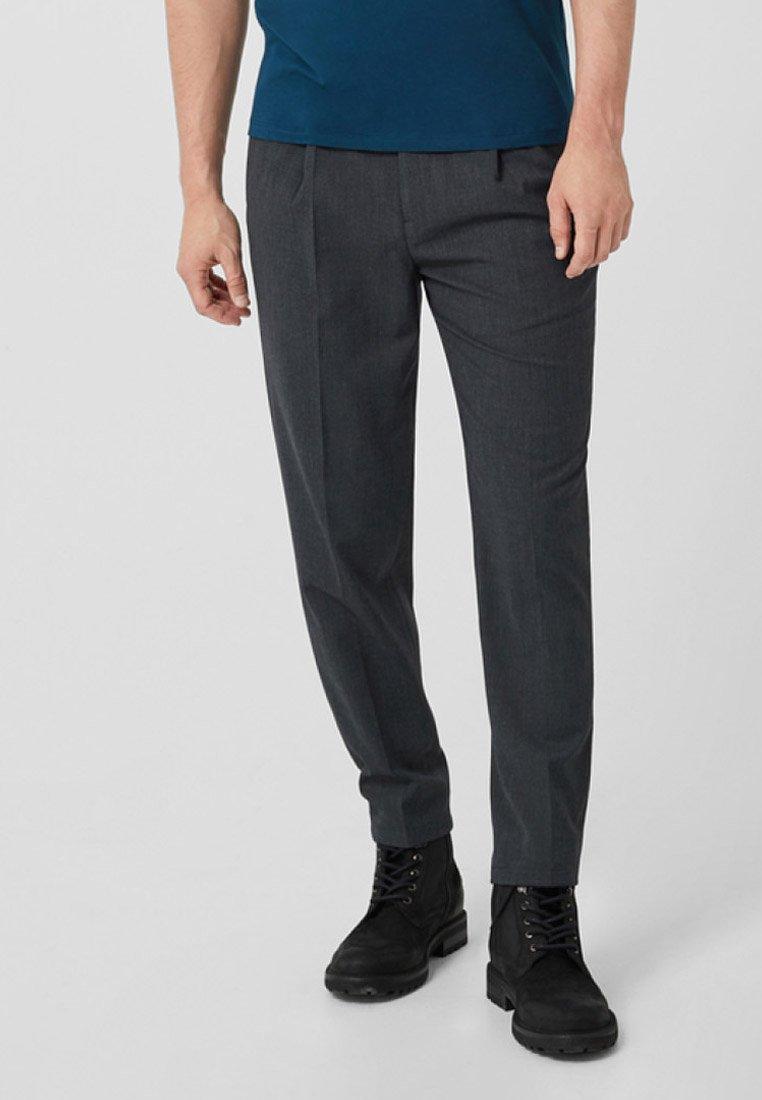 s.Oliver BLACK LABEL - Suit trousers - grey
