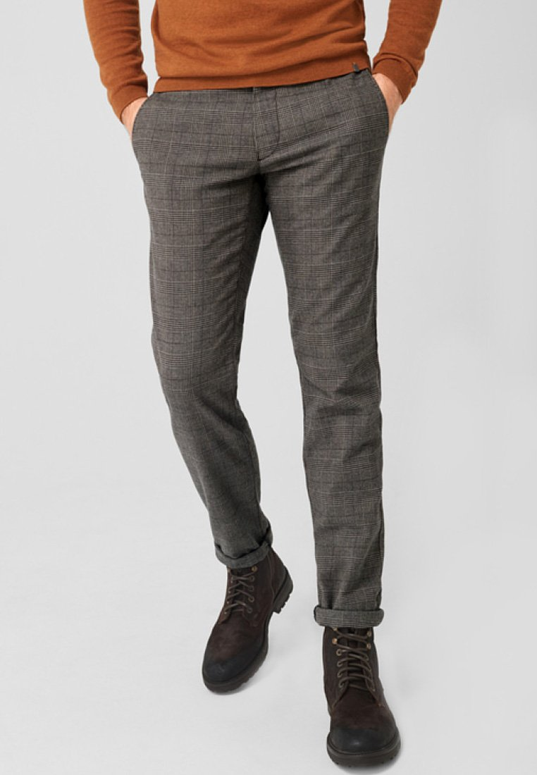 s.Oliver BLACK LABEL - Chino - dark gray