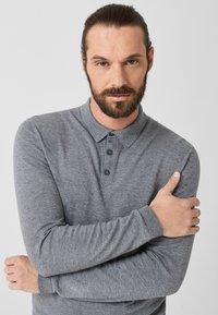 s.Oliver BLACK LABEL - Poloshirt - grey melange - 3