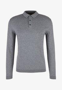 s.Oliver BLACK LABEL - Poloshirt - grey melange - 4