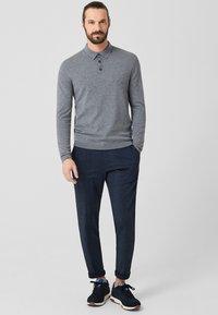 s.Oliver BLACK LABEL - Poloshirt - grey melange - 1