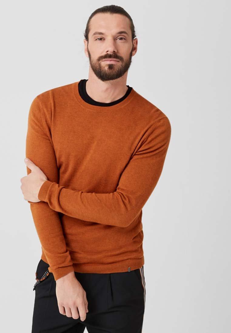 s.Oliver BLACK LABEL - Jumper - orange melange