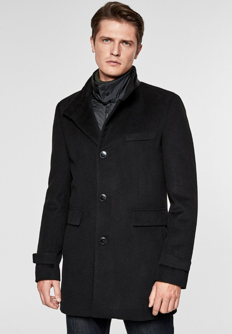 s.Oliver BLACK LABEL - Winter coat - black