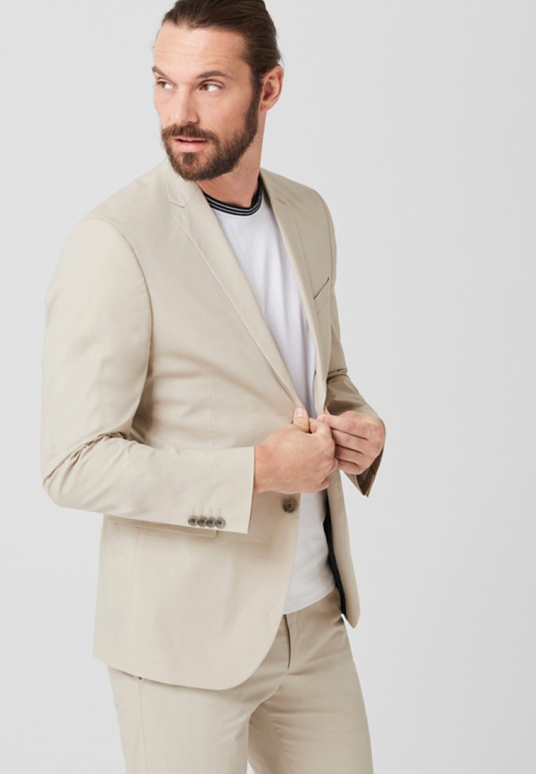s.Oliver BLACK LABEL - Blazer jacket - beige