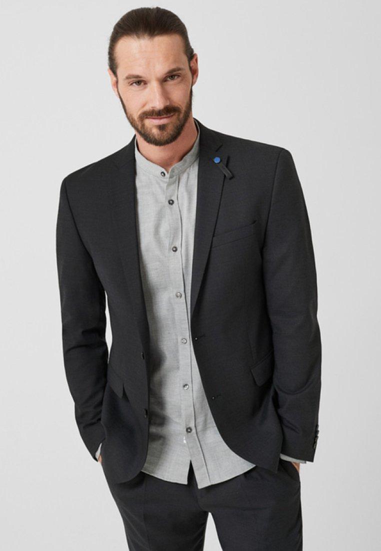 s.Oliver BLACK LABEL - Blazer jacket - grey/black