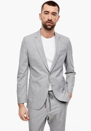blazer - light grey melange