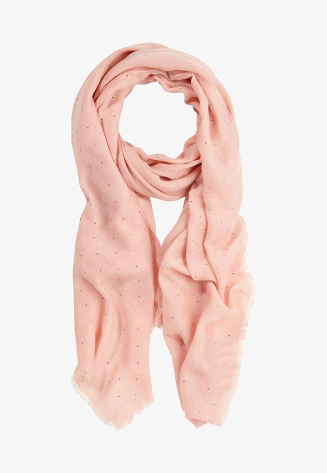 MET STUD-DETAILS - Schal - vintage blush