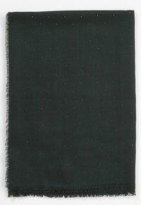 s.Oliver BLACK LABEL - MET STUD-DETAILS - Schal - dark green - 2