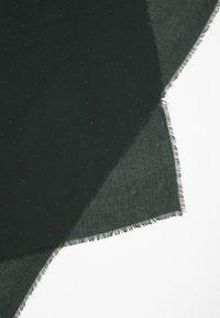 s.Oliver BLACK LABEL - MET STUD-DETAILS - Schal - dark green - 3