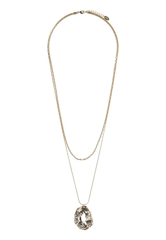MIT ANHÄNGER - Halskette - gold