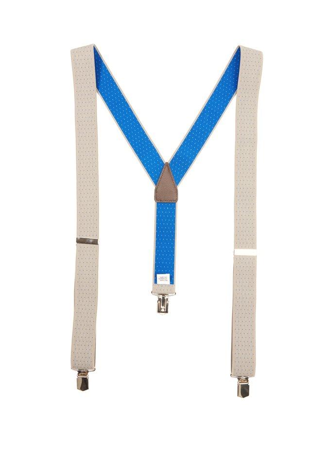 MIT PUNKTEMUSTER - Belt - beige aop dots