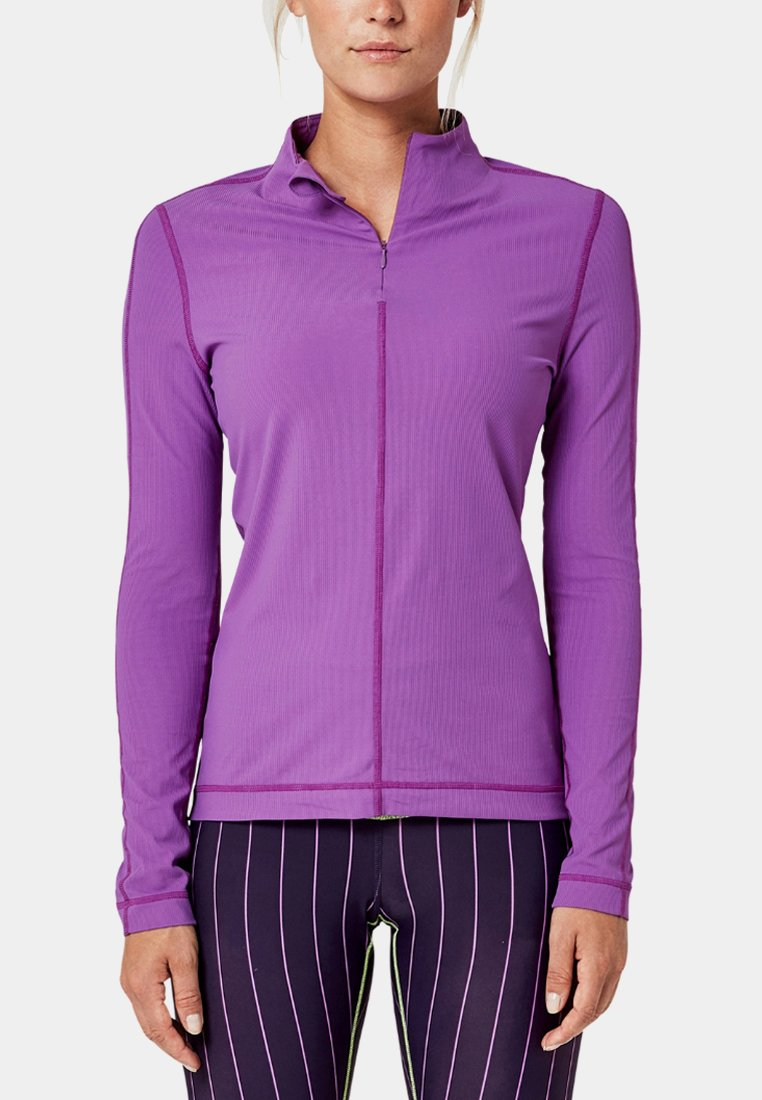 s.Oliver active - Long sleeved top - light purple