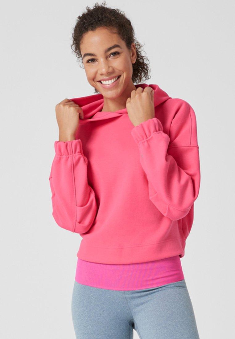 s.Oliver active - Hoodie - neon pink