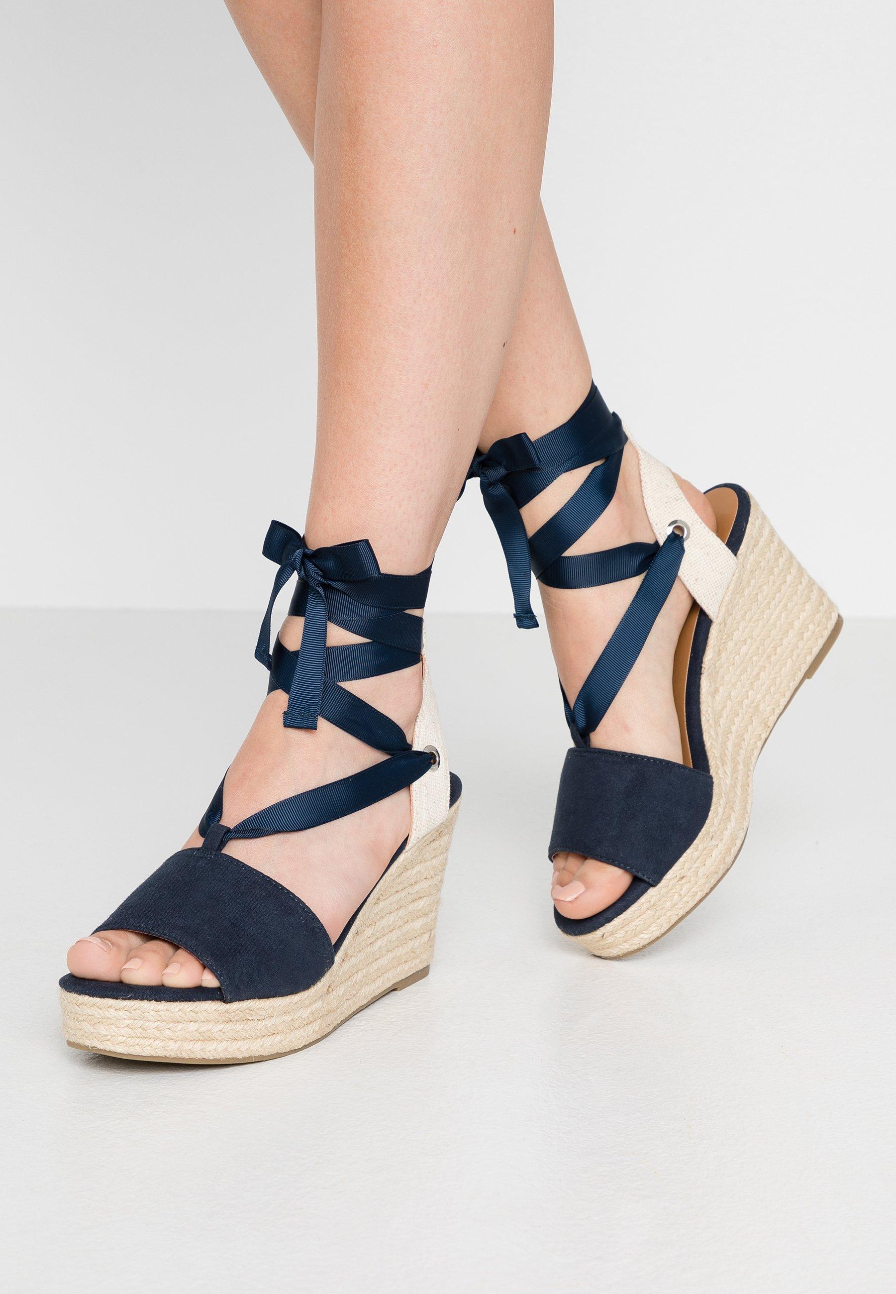 South Beach Sandaler med høye hæler - cream