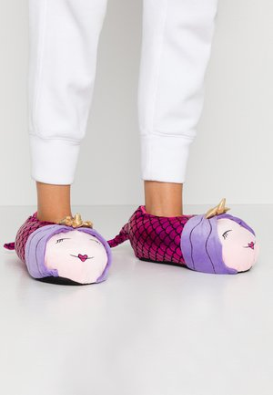 MERMAID SLIPPERS - Pantoffels - pink