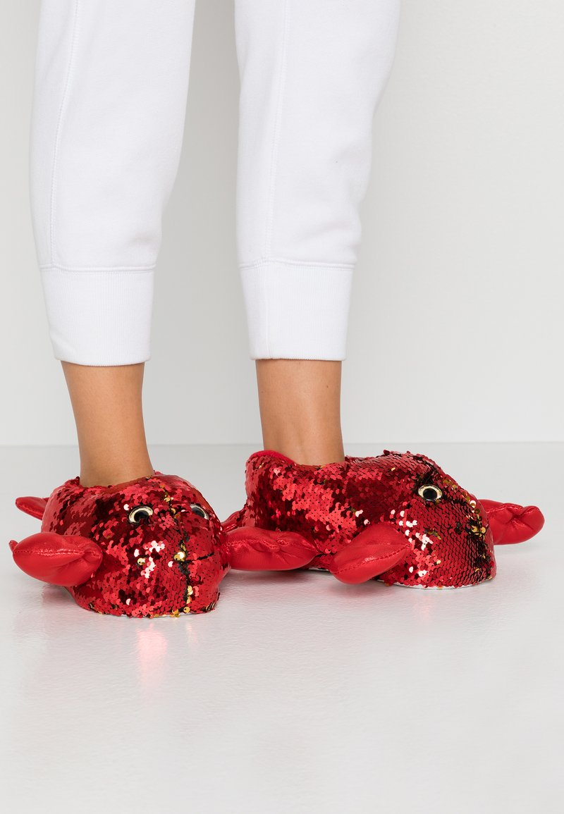 South Beach - Pantoffels - red
