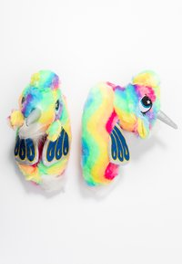South Beach - RAINBOW FLYING UNICORN SLIPPERS - Pantoffels - multicolor - 3
