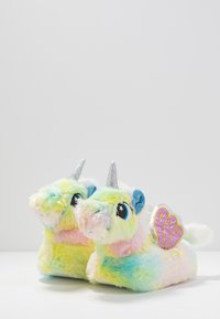 South Beach - PASTEL RAINBOW FLYING UNICORN SLIPPERS - Slippers - multicolor - 4