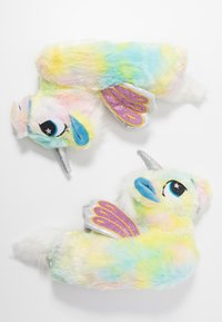 South Beach - PASTEL RAINBOW FLYING UNICORN SLIPPERS - Slippers - multicolor - 3
