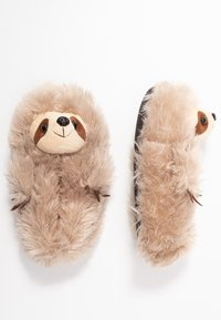 South Beach - SLOTH SLIPPERS - Pantoffels - brown - 3