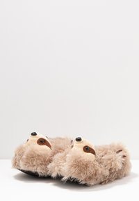 South Beach - SLOTH SLIPPERS - Pantoffels - brown - 4
