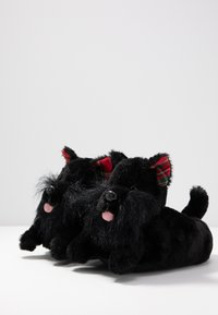 South Beach - BLACK DOG SLIPPERS - Pantoffels - black - 4