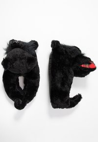South Beach - BLACK DOG SLIPPERS - Pantoffels - black - 3