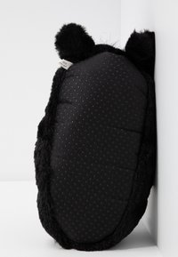 South Beach - BLACK DOG SLIPPERS - Pantoffels - black - 6