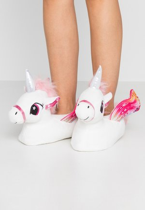 Slippers - white/pink