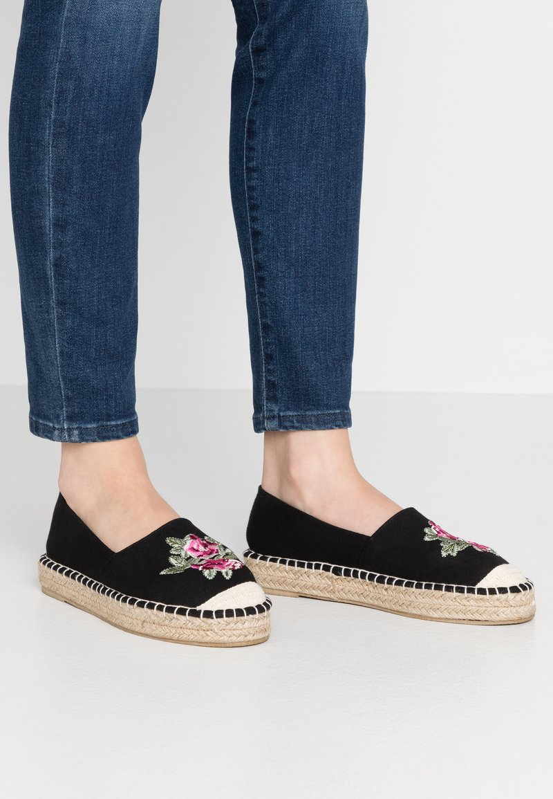 South Beach - Espadrilky - black