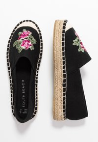 South Beach - Espadrilky - black - 3