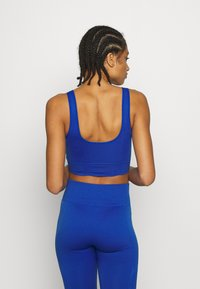 South Beach - SQUARE NECK TOP - Sujetador deportivo - cobalt - 2