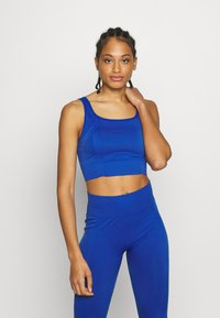 South Beach - SQUARE NECK TOP - Sujetador deportivo - cobalt - 0