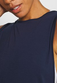 South Beach - YOGA WRAP - Top - navy - 5