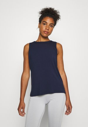 YOGA WRAP - Topper - navy