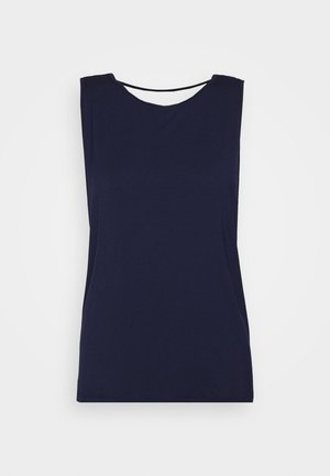 YOGA WRAP - Top - navy