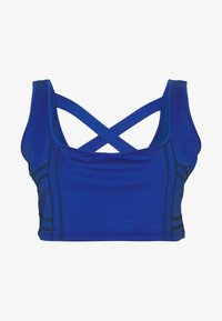 South Beach - SEAMLESS SQUARE NECK CUT SEW - Top - cobalt - 4