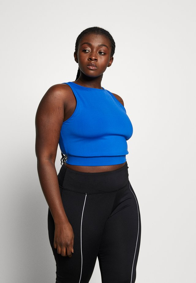ROUNDKNIT CUT AND SEW - Top - cobalt