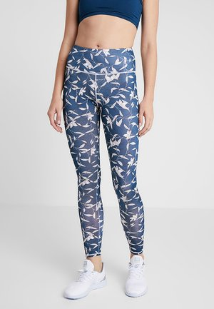 ALL OVER PRINT LEGGING - Punčochy - blue