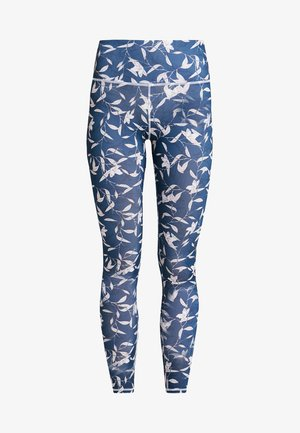 ALL OVER PRINT LEGGING - Tights - blue