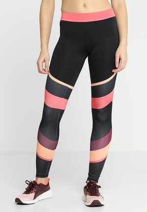 COLOURBLOCK GYM - Tights - black